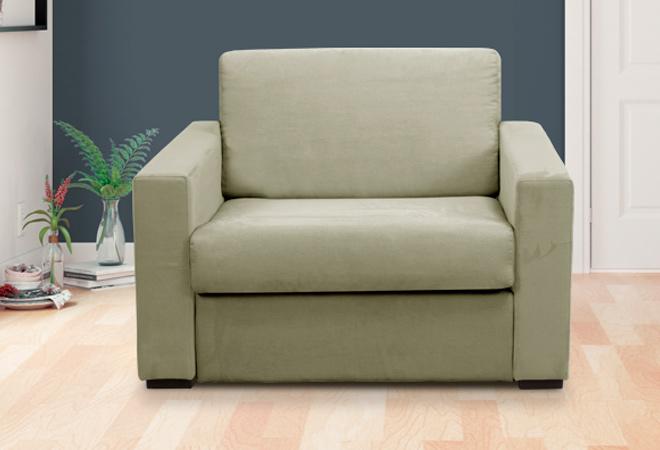 Poltrona letto singola materasso 70 per uso frequente con - Materasso per poltrona letto ...