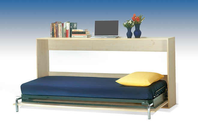 Letto a scomparsa orizzontale idee creative e innovative for Ikea letto ribaltabile