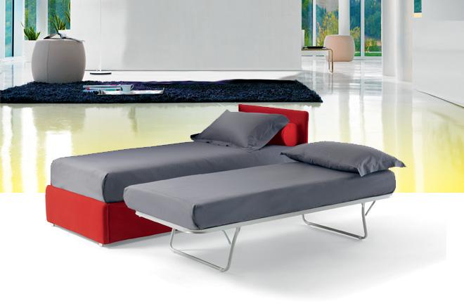 Divano letto con rete estraibile consegna gratuita for Materassi x divano letto