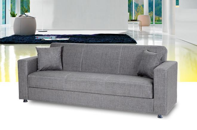 Divano letto con braccioli consegna gratuita for Materassi x divano letto