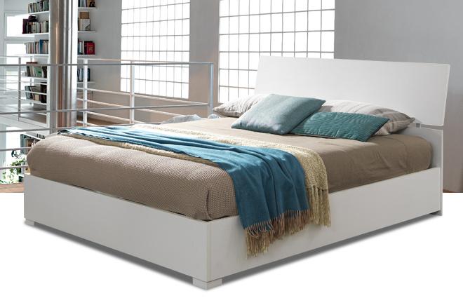 Letto in legno: cassettone in offerta materassi.com