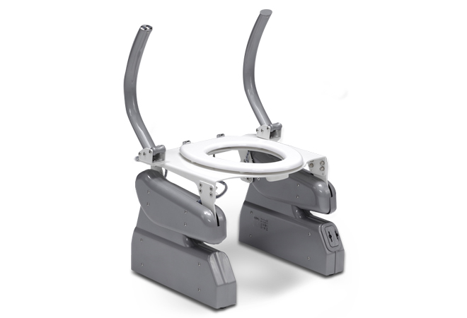 alzapersone per wc