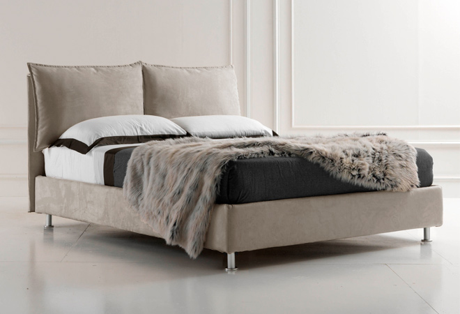 letto matrimnoniale turchese box