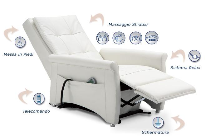Poltrone Relax Massaggio Prezzi.Poltrona Relax Con Massaggio Consegna Gratuita Materassi Com