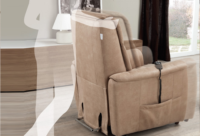 Poltrona relax con Roller System