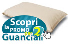 Guanciale con fibre naturali all'interno