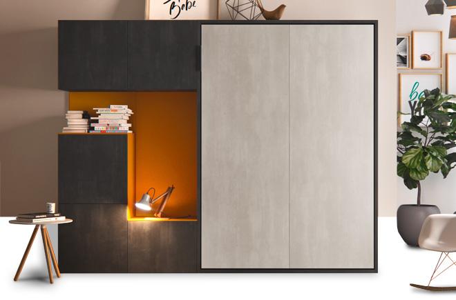 Letto a scomparsa con mobili | Materassi.com