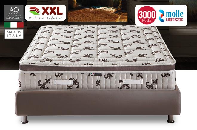 Materassi A Molle Vendita On Line.Materasso 3000 Molle E Memory Pillow Top Materassi Com